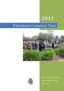 pakenham cemetery tour book cover