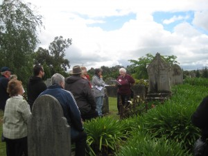 Our first Pakenham Cemetery Tour