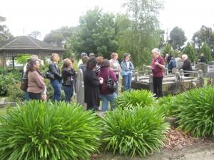Pakenham Cemetery Tour