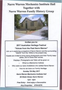 2017 Australian Heritage Festival